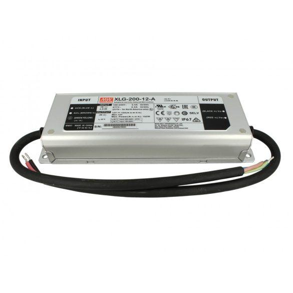 MEAN WELL XLG-200-12-A LED tápegység; 192W; 100...305VDC