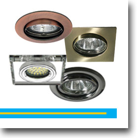 Beépíthető spot lámpatestek