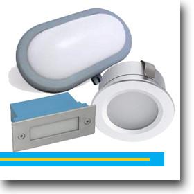Védett LED lámpatest