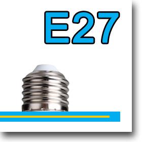 LED fényforrás E27-es foglalattal