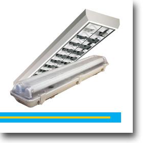 LED fénycsöves armatúra