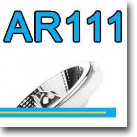 LED fényforrás AR111-es foglalattal