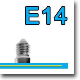 LED fényforrás E14-es foglalattal