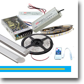 LED szalagok és tápegységek