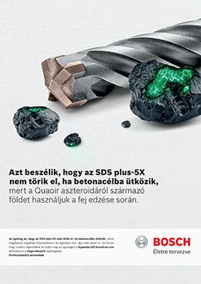 Dinavill Bosch SDS plus katalógus