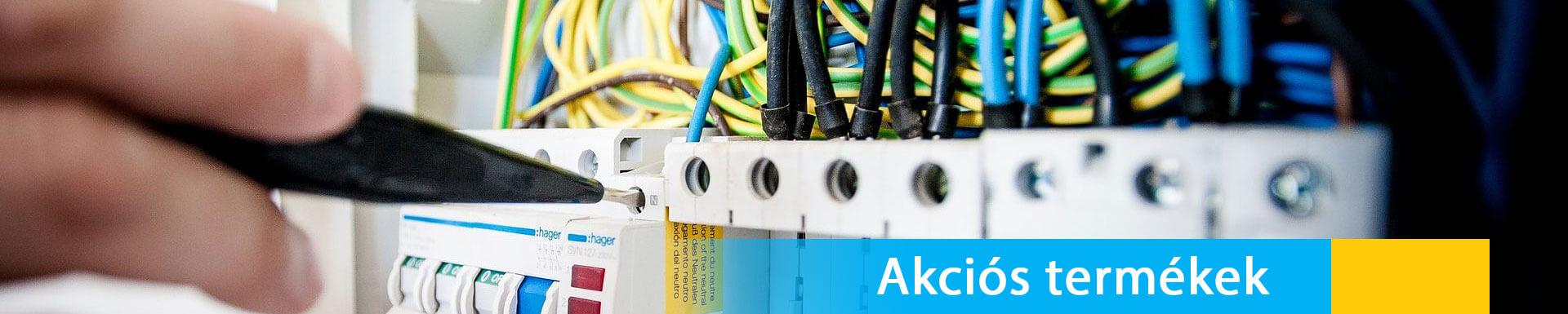 Dinavill Kft - Akciós villanyszerelési anyagok